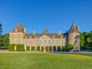 5 bedroom Chateau in Tocqueville-les-Murs, Normandy, France : ref 5049742