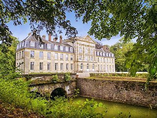 8 bedroom Chateau in Courtomer, Normandy, France : ref 5049737