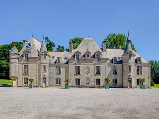 8 bedroom Chateau in Tamerville, Normandy, France : ref 5049730