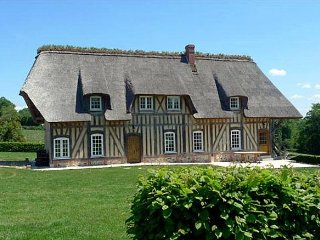 5 bedroom Villa in Saint-Maclou, Normandy, France : ref 5049728