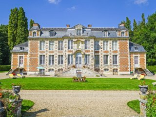 5 bedroom Chateau in Saint-Maclou, Normandy, France : ref 5049729