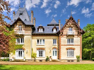 8 bedroom Chateau in Gauciel, Normandy, France : ref 5049746