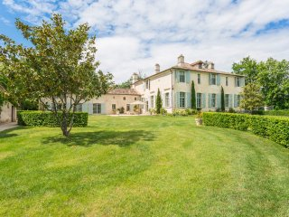 10 bedroom Chateau in Molieres-sur-Ceze, Occitania, France : ref 5049698