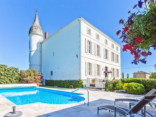 6 bedroom Chateau in Le Temple-sur-Lot, Nouvelle-Aquitaine, France : ref 5049690