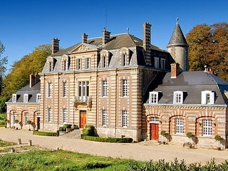 9 bedroom Chateau in Sommesnil, Normandy, France : ref 5049741