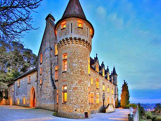 8 bedroom Chateau in Saint-Julien-de-Lampon, Nouvelle-Aquitaine, France : ref 50