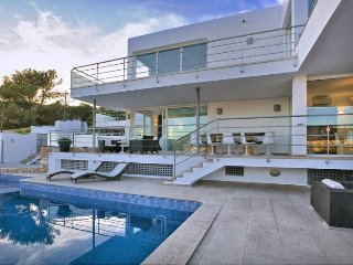 5 bedroom Villa in Cala Tarida, Balearic Islands, Spain : ref 5049293