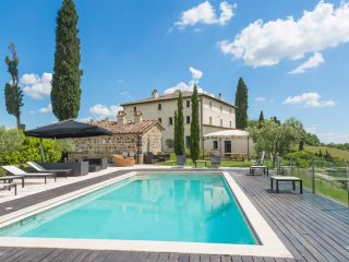 9 bedroom Villa in Celle sul Rigo, Tuscany, Italy : ref 5049055