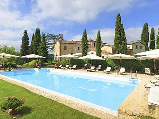 18 bedroom Villa in Collalto, Tuscany, Italy : ref 5049066