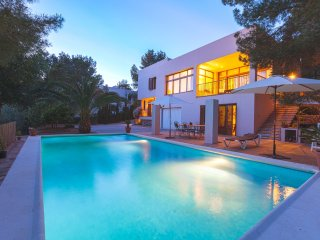 3 bedroom Villa in Sant Antoni de Portmany, Balearic Islands, Spain : ref 504787