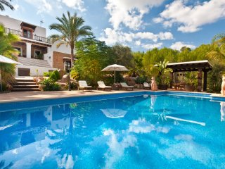 5 bedroom Villa in Santa Eularia des Riu, Balearic Islands, Spain : ref 5047798