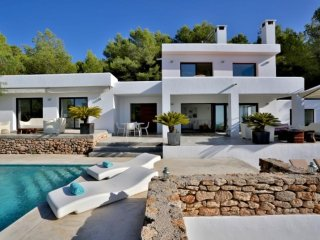 4 bedroom Villa in Cala Tarida, Balearic Islands, Spain : ref 5047397