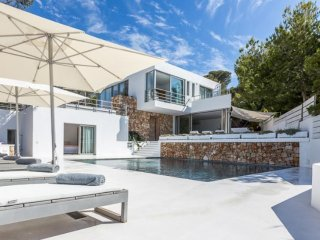 6 bedroom Villa in Cala Tarida, Balearic Islands, Spain : ref 5047412