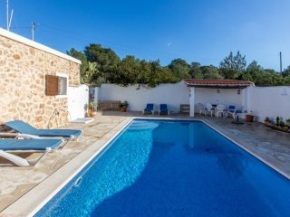 3 bedroom Villa in Cala Tarida, Balearic Islands, Spain : ref 5047306