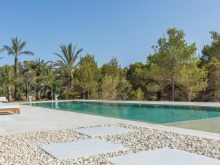 5 bedroom Villa in Cala Tarida, Balearic Islands, Spain : ref 5047284