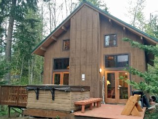 44MBR Rustic Cabin with a Hot Tub