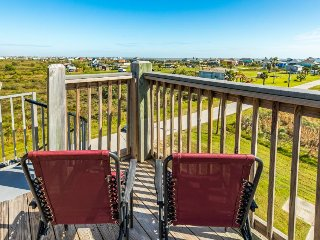 Enjoy the view from this charming home w/ multiple decks & new amenities