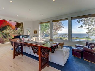 Gorgeous estate w/ ocean view plus large private pool, hot tub, & beach access!