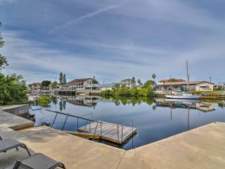Waterfront Hernando Beach Home w/ Dock & Hot Tub!