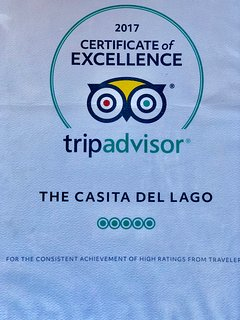 Proud to be the only Abiquiu area vacation home to win the Certificate of Excellence.