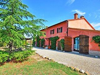 5 bedroom Villa in Castiglione d'Orcia, Tuscany, Italy : ref 5240049