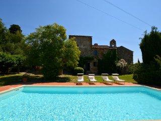6 bedroom Villa in Fattoria Spedaletto, Tuscany, Italy : ref 5055520