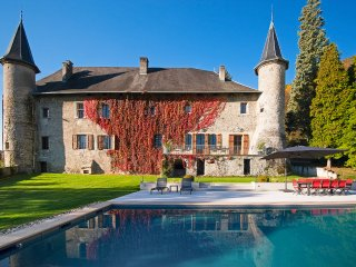 10 bedroom Chateau in Le Bourget, Auvergne-Rhône-Alpes, France - 5049801