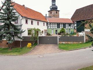 Elvi's Ferienhof - Großzügiges Ferienhaus im Thüringer Wald nahe Rudolstadt