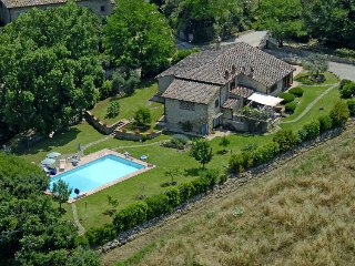 4 bedroom Villa in Luiano, Tuscany, Italy : ref 5028412