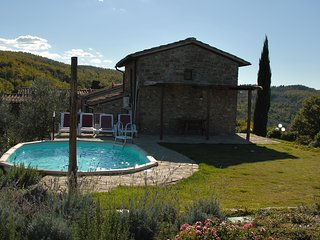 The Chapel. Private Cottage with pool at La Vecchia Greve
