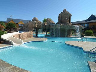 Studio Suite * Indoor & Outdoor Water Park Resort in Wisconsin Dells! Free Wifi!