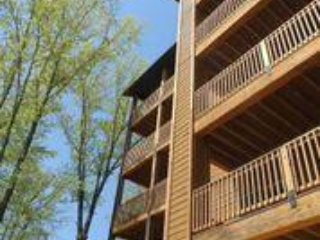 2BR Villa in Branson, MO w/Resort Pool, Balcony, Fireplace, Full Kitchen & more!
