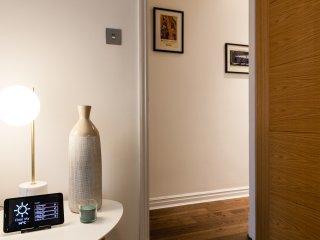 bright hallway/attention to details