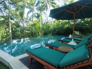 3 Bedroom Balinesse Classic Villa, River View Near Ubud;