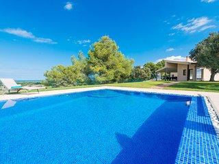 SON VADOR :) Villa con vistas para 8 personas en Santa Margalida. AC y WiFi grat