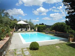 4 bedroom Villa in Castelfiorentino, Tuscany, Italy : ref 5484408