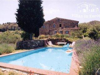 5 bedroom Villa in Palazzone, Tuscany, Italy : ref 5484229