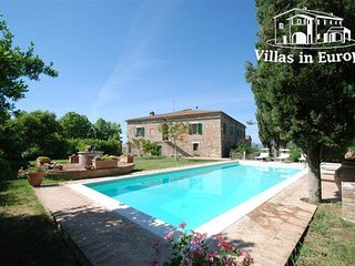 5 bedroom Villa in Asciano, Tuscany, Italy : ref 5484081