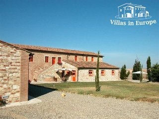 7 bedroom Villa in Asciano, Tuscany, Italy : ref 5484016