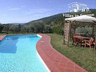 5 bedroom Villa in Siena, Tuscany, Italy : ref 5483972