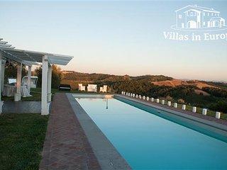 9 bedroom Villa in San Gimignano, Tuscany, Italy : ref 5483971