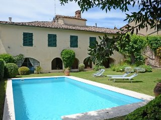 8 bedroom Villa in Montalcinello, Tuscany, Italy : ref 5479398