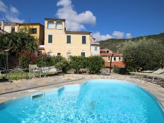 5 bedroom Villa in Dolcedo, Liguria, Italy : ref 5473422