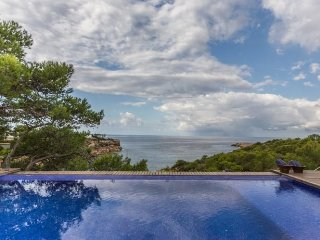 5 bedroom Villa in Cala Tarida, Balearic Islands, Spain : ref 5472919