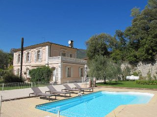6 bedroom Villa in Nice, Provence-Alpes-Côte d'Azur, France : ref 5472777