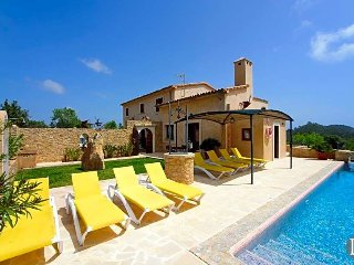 5 bedroom Villa in s'Horta, Balearic Islands, Spain : ref 5433562