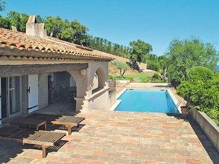 5 bedroom Villa in Grimaud, Provence-Alpes-Côte d'Azur, France : ref 5435967