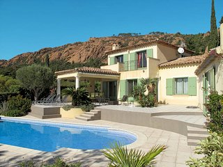 4 bedroom Villa in Agay, Provence-Alpes-Cote d'Azur, France : ref 5435874