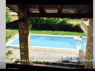 VILLA GAIA pool and sun