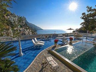 6 bedroom Villa in Positano, Campania, Italy : ref 5392994